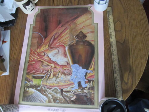 Lord of the Rings vintage 1976 Steve Hickman poster NEW The Invisible Theif