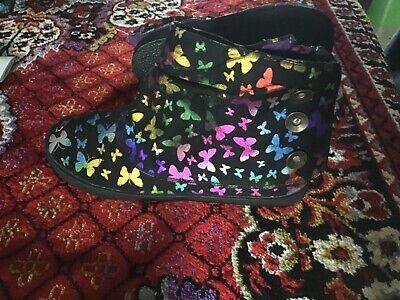 Kleid Bootie (Woman's butterfly design booties)