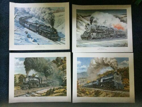 "4 Baltimore & Ohio Railroad (B&O RR) Prints 16"" x 20"" each"