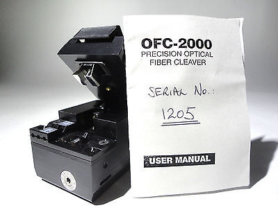 Fiber Cleaver Oxford Egg Ofc-2000 Precision Excellent