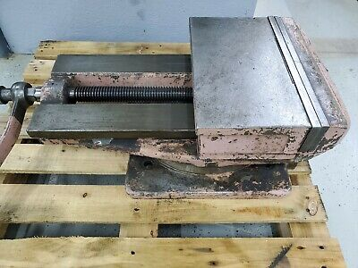 Large 15 Metal Shaper Swivel Machine Vise 14 Opening