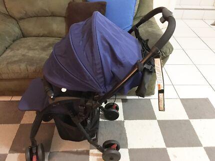 Blue Childcare Baby Pram