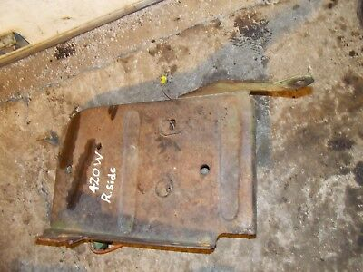 John Deere 420 W Tractor Jd Right Side Platform Step Foot Bracket