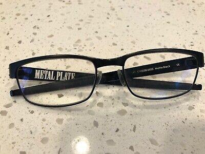 Men's Oakley METAL PLATE Black Matte Reading Glasses Frames 55 MM 18