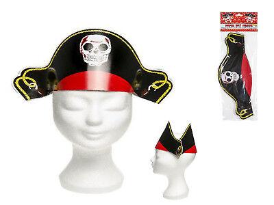 24x Piratenhut Hut Pirat Pappe Seeräuber Piratenparty Kostüm - Piraten Hut Kostüme