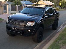 2013 Black PX Ford Ranger Springfield Lakes Ipswich City Preview