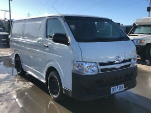 2010 Toyota Hiace van Turbo Diesel With rego and Rwc Ravenhall Melton Area Preview