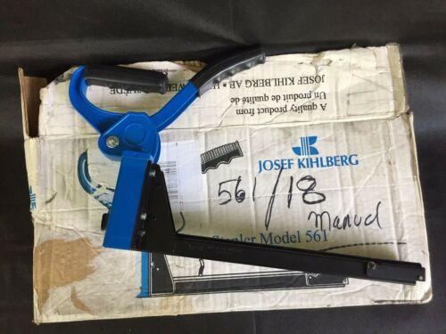JOSEF KIHLBERG TOP CARTON STAPLER NO. 561-18 HI QUALITY LIGHTWEIGHT EASY LOAD
