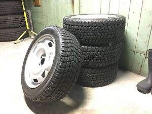 Snow Tires and Rims for VW Golf GTi