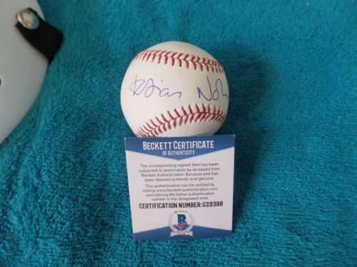 Game of thrones HODOR  Kristian Nairn  autographed ML baseball Beckett Certified