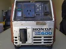 Honda EM 500 Petrol Generator Kallangur Pine Rivers Area Preview