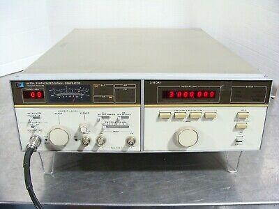 Hp Agilent Keysight 8672a Synthesized Signal Generator 2-18ghz Tested Guaranteed