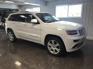 Jeep Grand Cherokee summit platinum diesel 2015