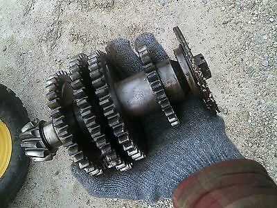Farmall Cub Lo Boy Tractor Ih Lower Drive Gears W Pinion Ring Gear