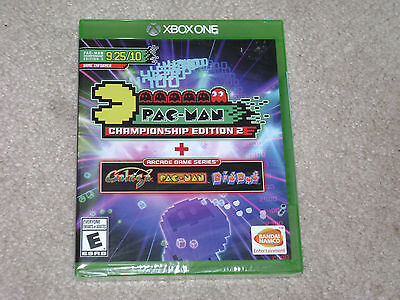 PAC MAN CHAMPIONSHIP EDITION 2 + ARCADE GAME SERIES..XBOX ONE..**SEALED**NEW** for sale  Shipping to South Africa