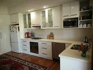 Complete white kitchen with Caesarstone bench Indooroopilly Brisbane South West Preview