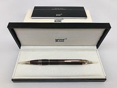 MontBlanc Starwalker Red Gold-Plated Metal Ballpoint Pen 106869