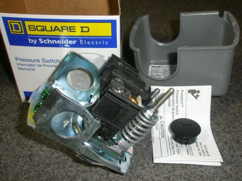 "SQ-D 40-60#  WATER PUMP PRESSURE SWITCH #9013FSG2 Square D 1/4""FPT New"