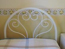 Beautiful White, Curved & Decorative Enamel Single Bed Yarralumla South Canberra Preview