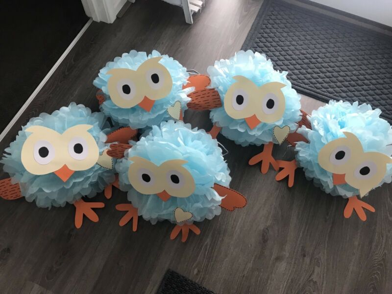 Giggle And Hoot Party Decorations 47 Goods