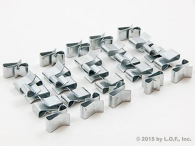 Trailer Wiring Clips - Package of 25 - Attach Wiring to Frame - Hide & Protect