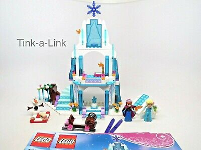 Lego 41062 Elsa's Sparkling Ice Castle Frozen Set Missing one sticker See Descri