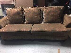 Moving sale,2 pieces sofa set,ottoman and more