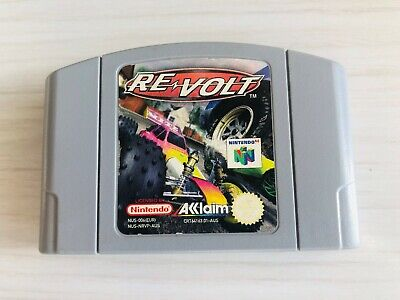 Revolt N64 Nintendo 64 Game Cartridge