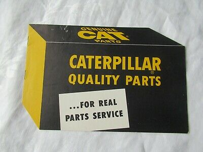 Cat Caterpillar Tractor Quality Parts Training Brochure