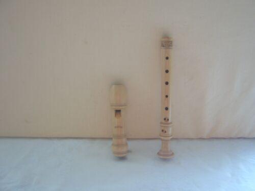 Wooden Moeck Rottenburgh 129 Soprano / Descant Recorder, Baroque, Maple