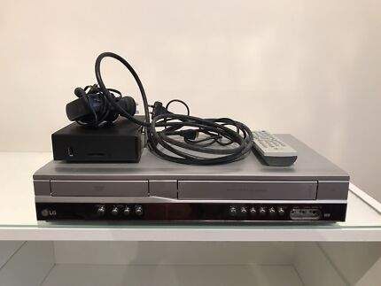 LG DVD/video player with icy box top set box plus remote