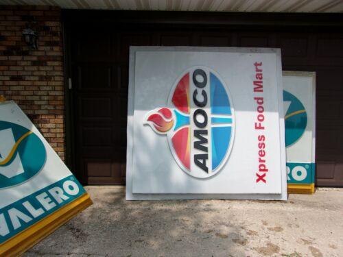 Large Amoco Gas Sign 7 1/2