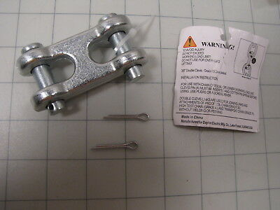 Dayton 1dnd1a Double Clevis Link 516 To 38 6600lb Working Load Limit New