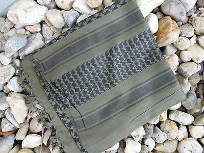 PLO Halstuch Schal Palästinenser Headwrap Shemagh Oliv / Schwarz Camo Scarf OD