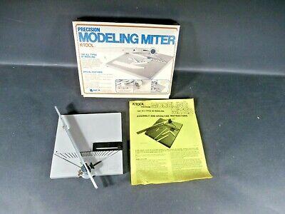 Original K-tool Precision Modeling Miter Model #020 with Original Box & Manual