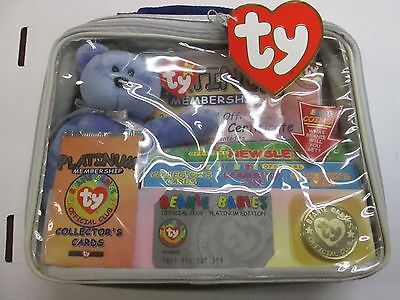 TY Beanie Babies Collectors Club Kit, with Beanie and more NWT 122214ame2