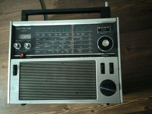 SONY 6band Super Sensitive Radio Model No TFM-1600, Good Condition.