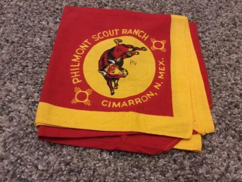 Vintage BSA Boy Scouts Neckerchief PHILMONT Scout Ranch Cimarron, N. Mex