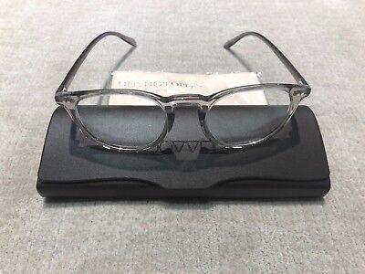 Oliver Peoples RILEY OV5004 1132 47-20 Workman Grey Frames (Oliver Peoples Clear Frame Glasses)