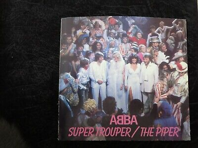ABBA - Super Trouper USA Picture Sleeve ONLY NO DISC