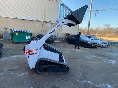 Bobcat Mt55 Mini Track Loader 25 Hp Kubota Front Hydraulics Bucket