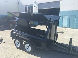 SALE! BUY DIRECT FROM AUSSIE FACTORY 8x5 BUILDERS TRAILERS Gold Coast Region Preview