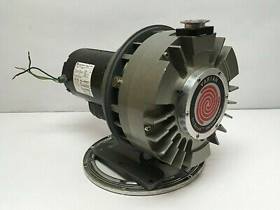 Agilent Varian Triscroll 600 Dry Vacuum Exchange Pump Expts06000sc Tested
