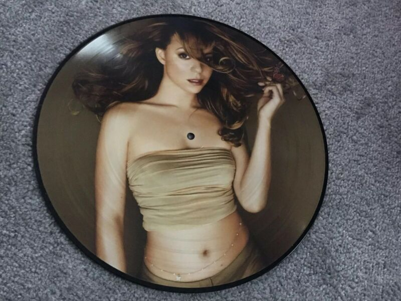 *MARIAH CAREY BUTTERFLY 20th ANNIVERSARY LIMITED EDITION VINYL LP PICTURE DISC**