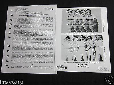 DEVO 'PIONEERS WHO GOT SCALPED' 2000 PRESS KIT—PHOTO
