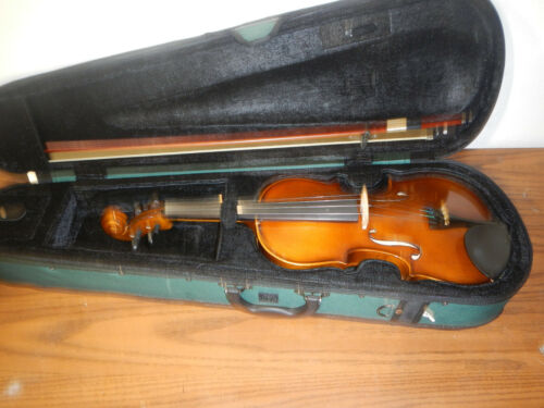 USED 4/4 Violin Musical Instrument Bow Case