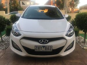 2012 Hyundai i30 GD Active White 6 Speed Sports Automatic Hatch Campbellfield Hume Area Preview