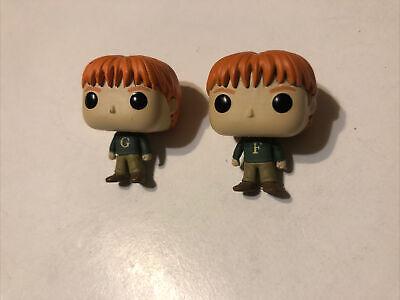 Funko 2018 Harry Potter Advent Calendar Mini Figures Fred & George Weasley Used