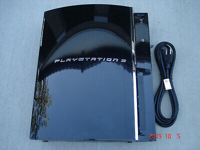 Sony PlayStation 3 60GB PLAYS PS3 PS2 SACD CECHA01 3.55 OFW #2