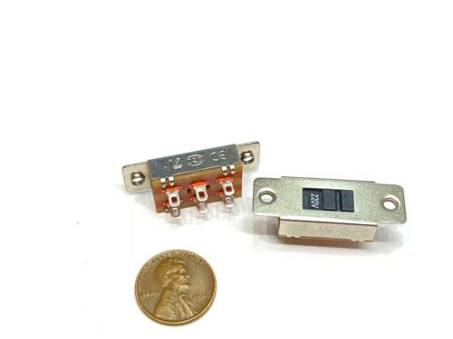 2 x Selector Select Slide Switch DPDT 2P2T Voltage AC 110V 220V power supply E20